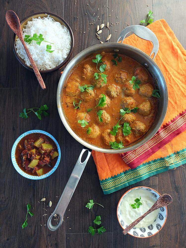 meatball curry an indian curry recipe