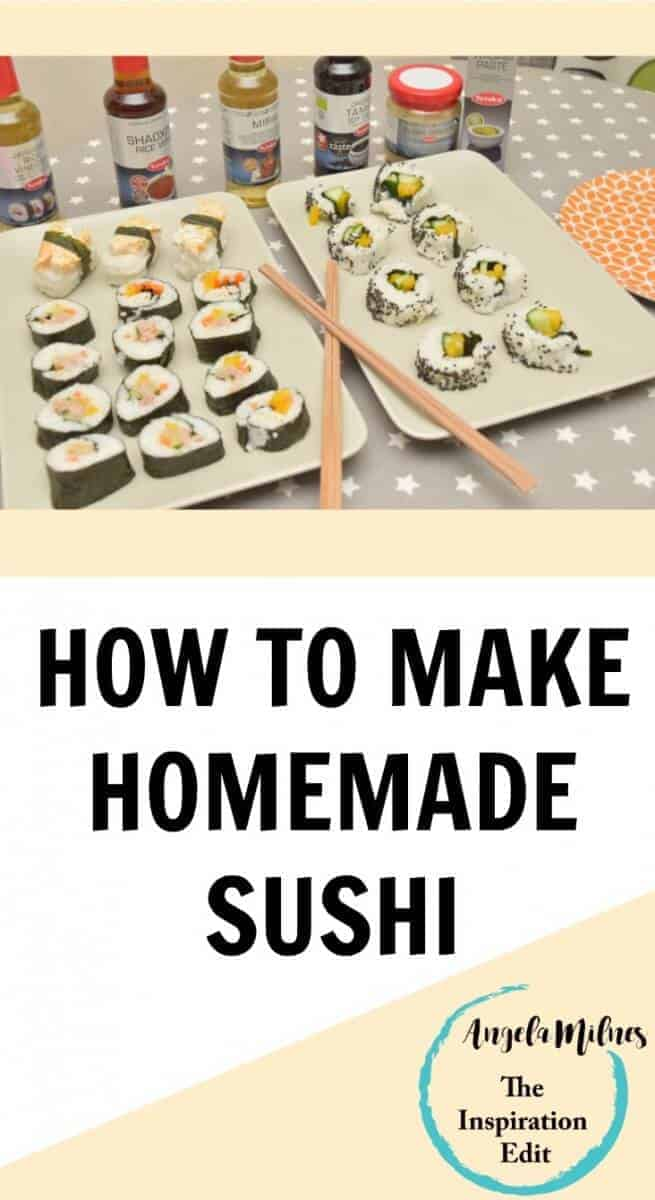 How to Make Home Made Sushi Image