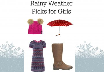 Rainy weather outfit for girls