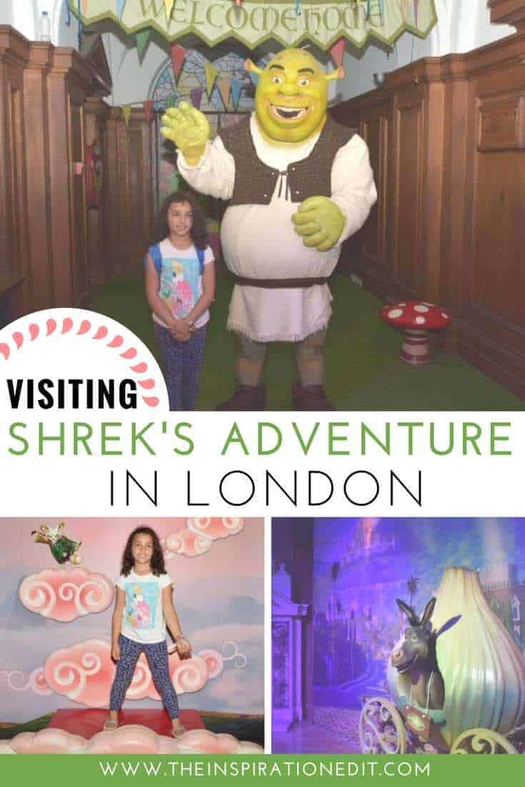 Visiting Shreks Adventure In London
