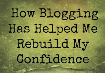 blogging confidence