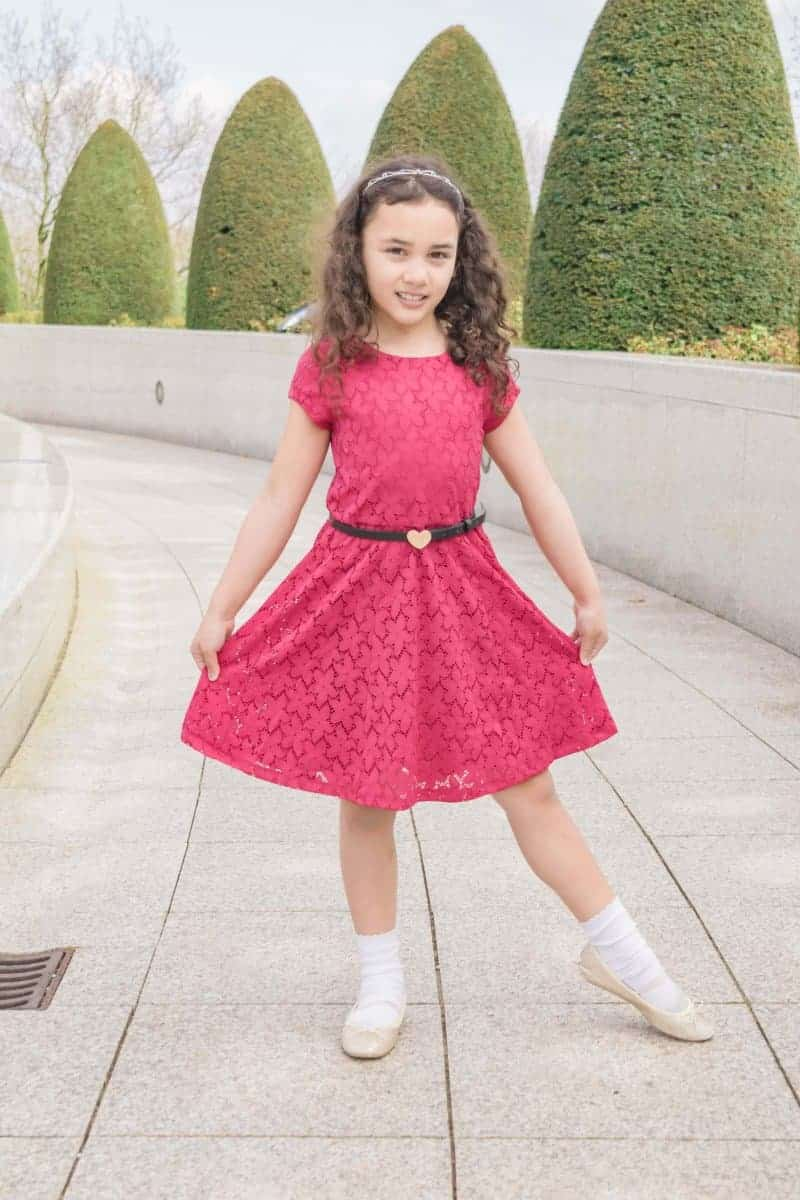 House of fraser red dress for girls