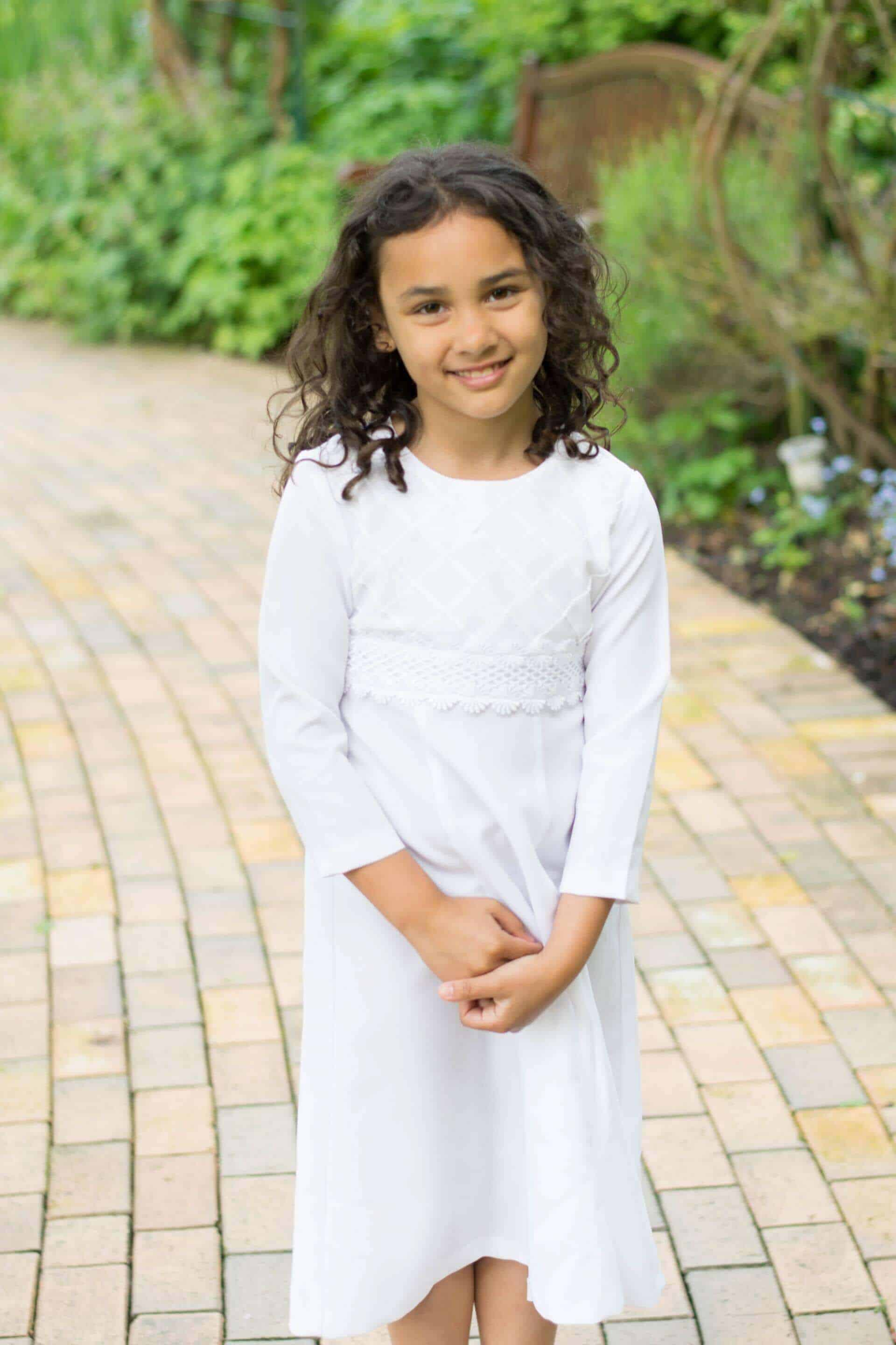 Baptism Dress for 8 year old child