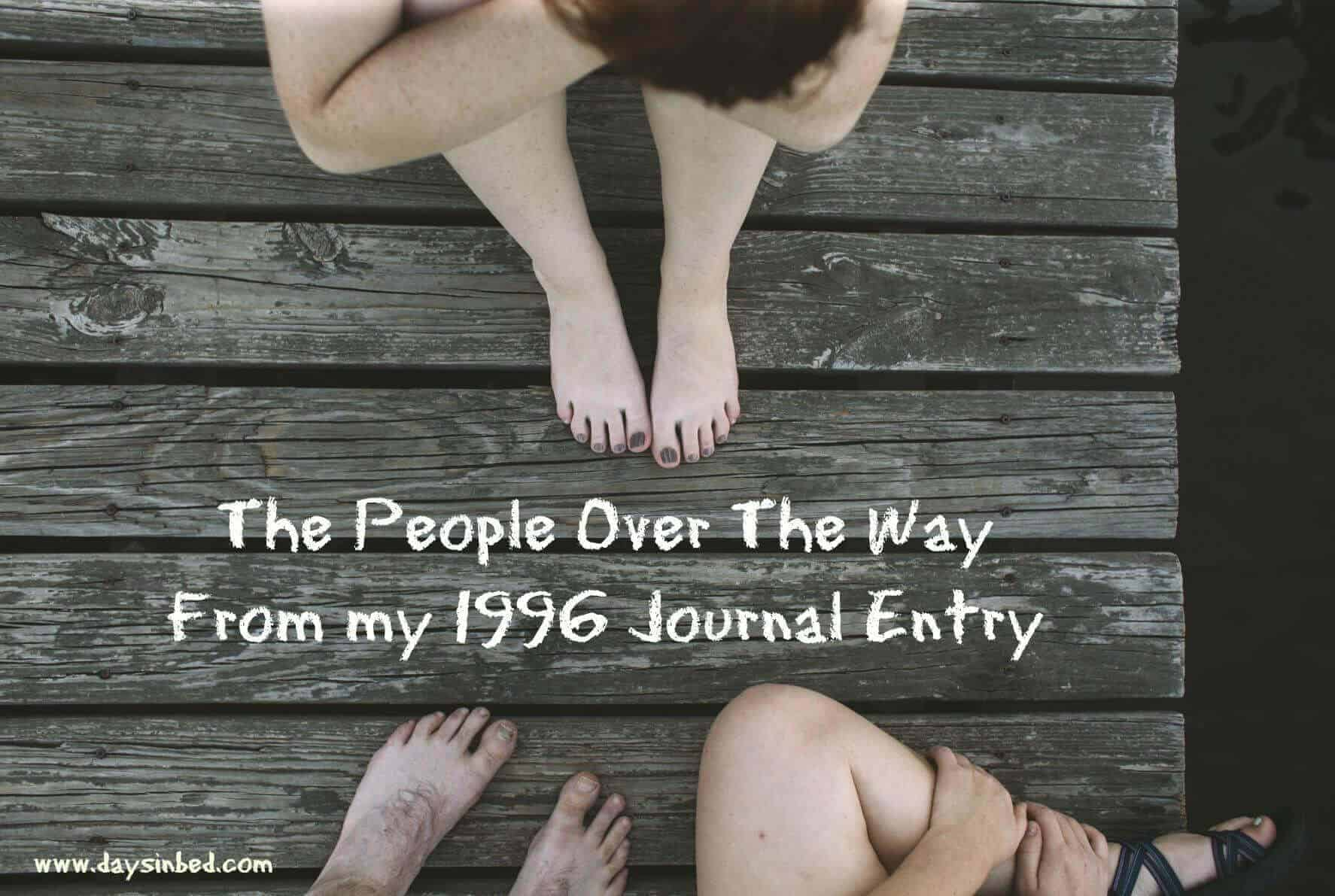 the people over the way poem