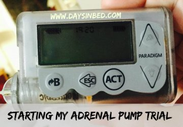 what does the adrenal pump look like