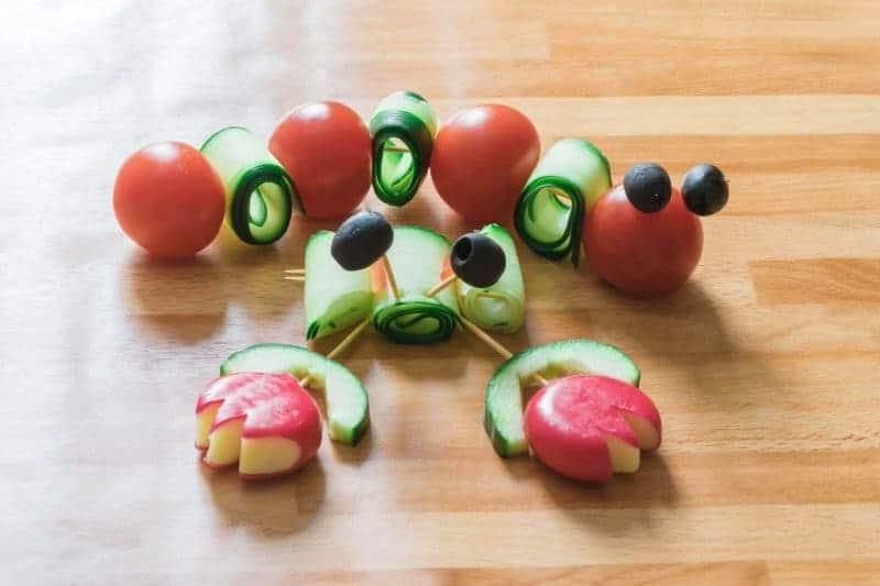 vegetable caterpillar