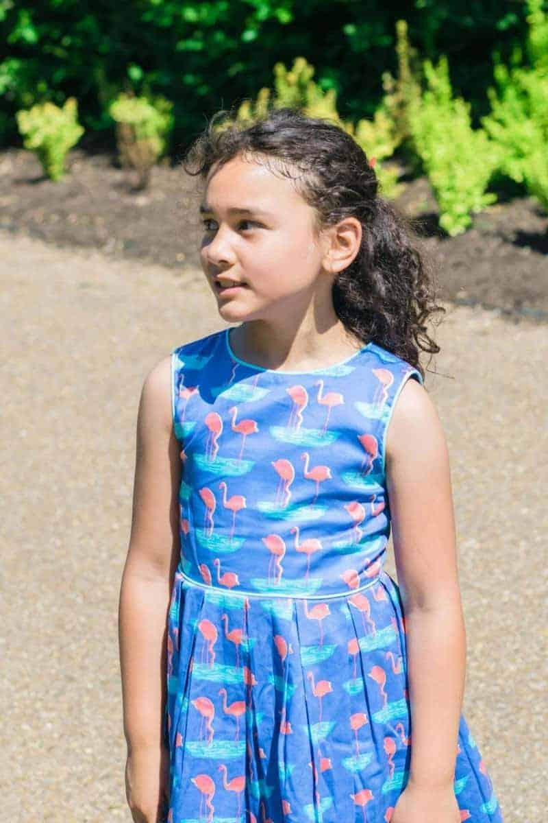 rachel riley flamingo dress