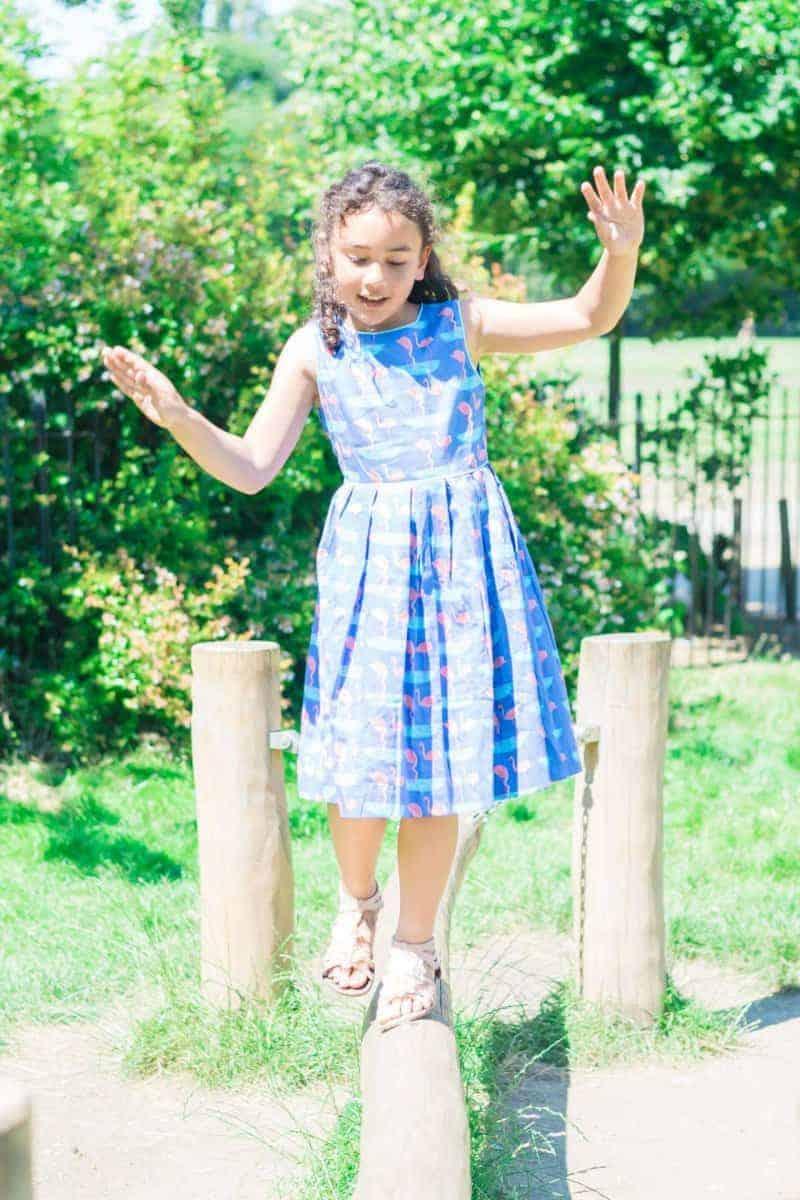 rachel riley falmingo dress