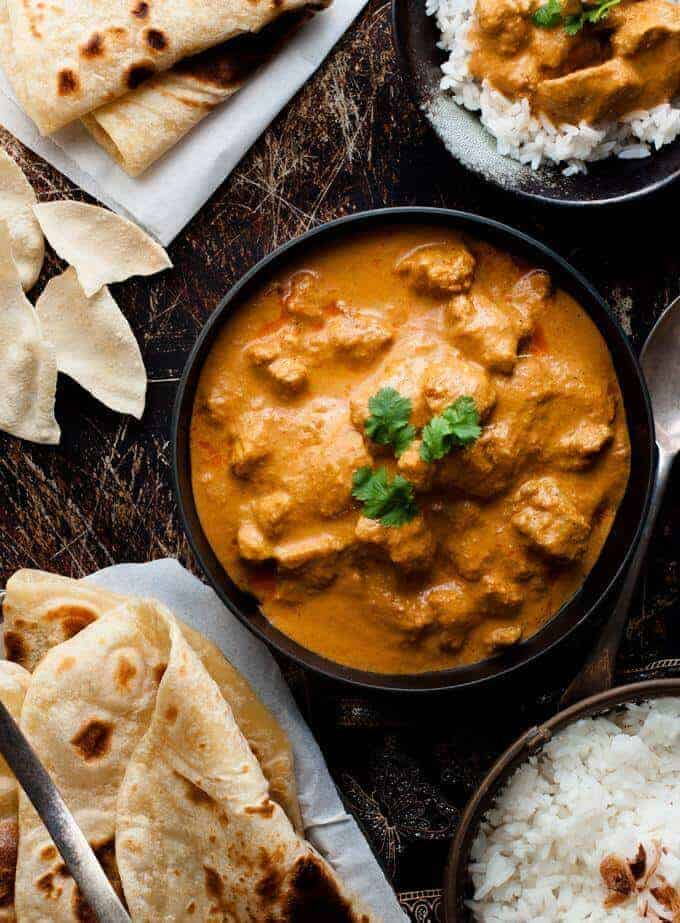 indian curry recipe ideas butter chicken