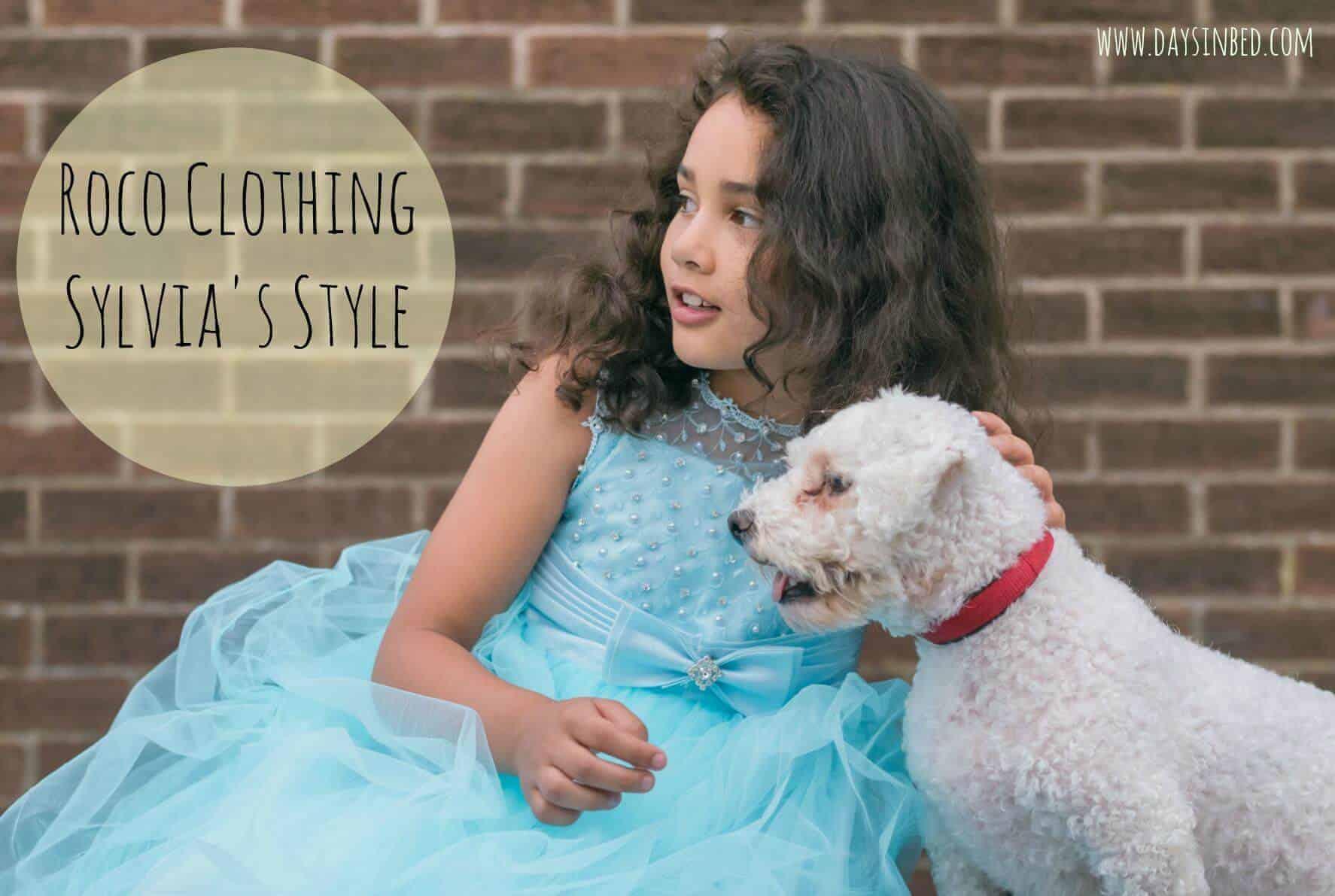 Roco Clothing flower girl dress