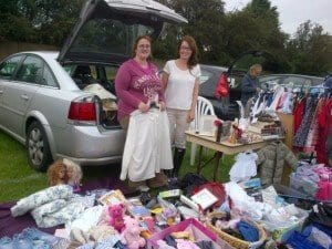 car boot sale whitwood west yorkshire