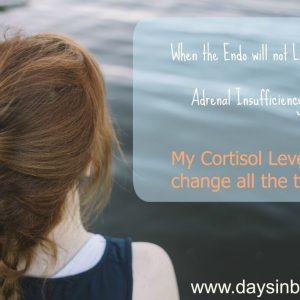 cortisol levels change