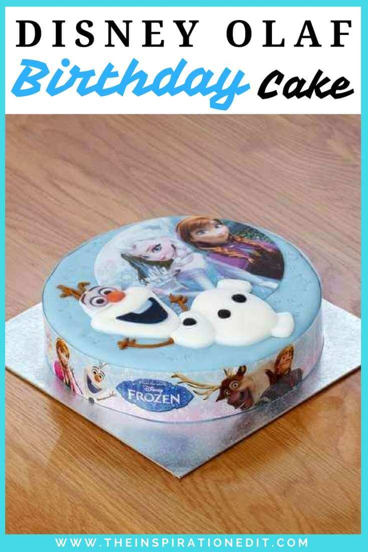 Fabulous Frozen Olaf Disney Cake The Inspiration Edit Funny Birthday Cards Online Alyptdamsfinfo