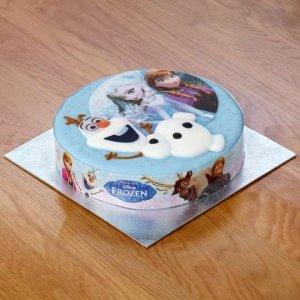 Olaf Disney Cake