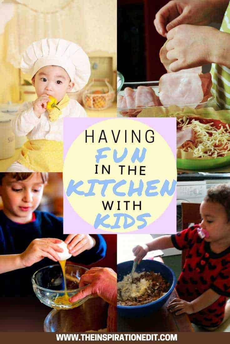 Having Fun In the Kitchen with Kids I've always loved cooking and baking.