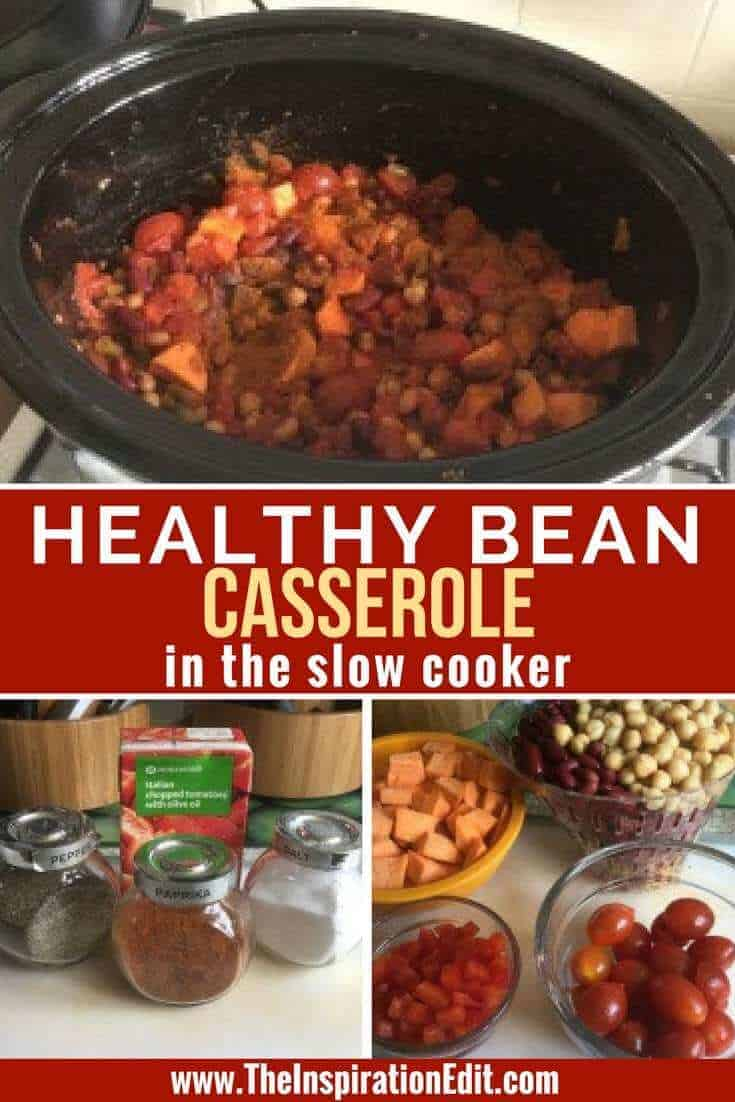 Check out our Healthy Bean Casserole in the Slow Cooker