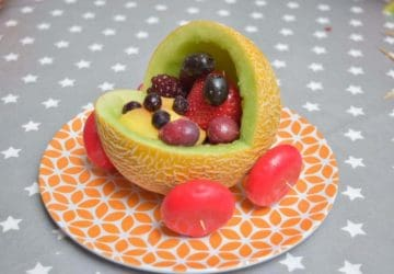 WATER MELON CARVING BABY SHOWER IDEA