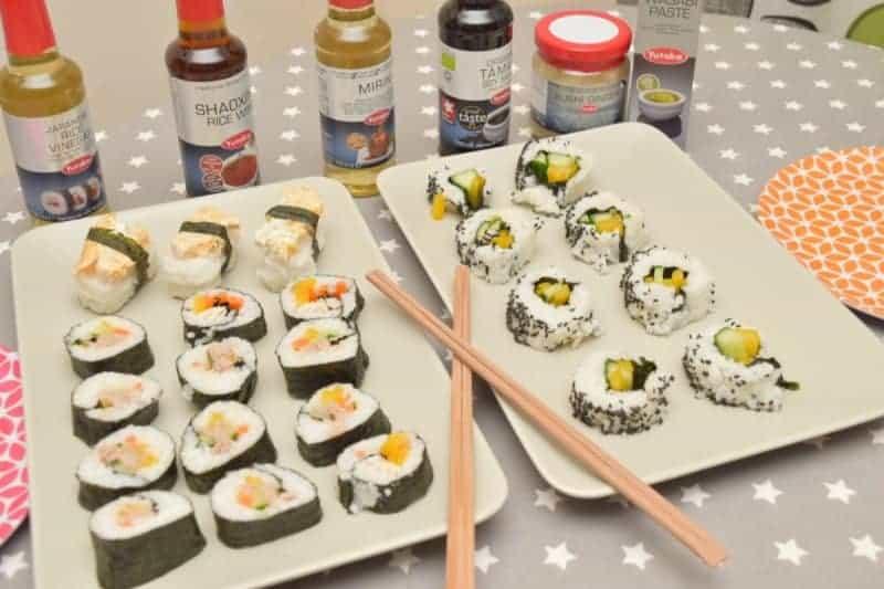 Make Homemade Sushi