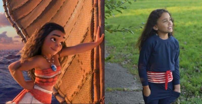 Disney Moana resembling my daughter with Tongan descent.