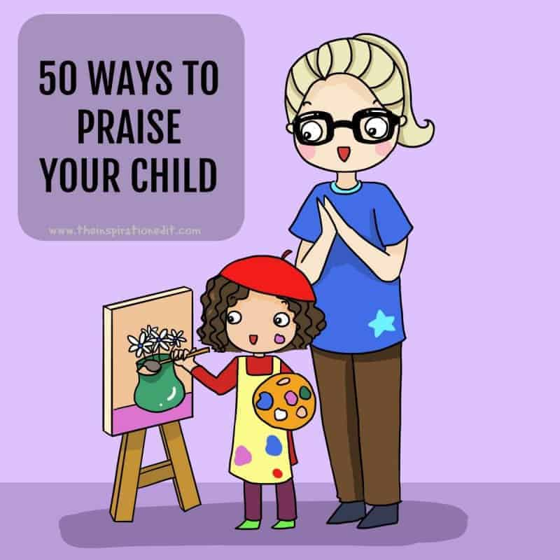 Your child will thrive with this comprehensive list of words of praise!