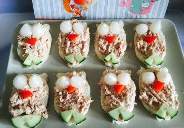 owl sandwiches for kids