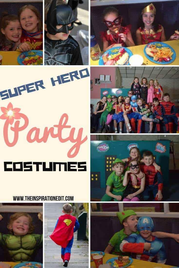 Super Hero Party Costumes