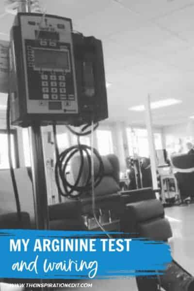 arginine test