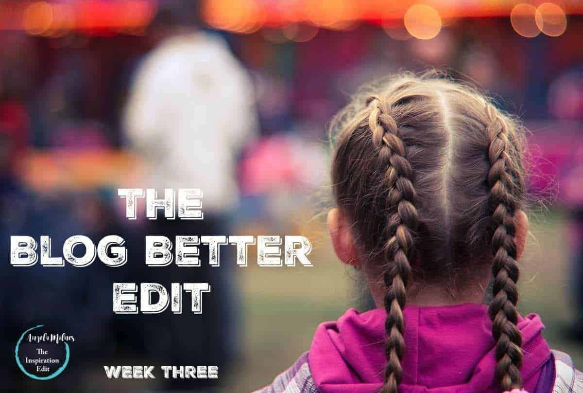 The Blog Better Edit Writing Two Blogs