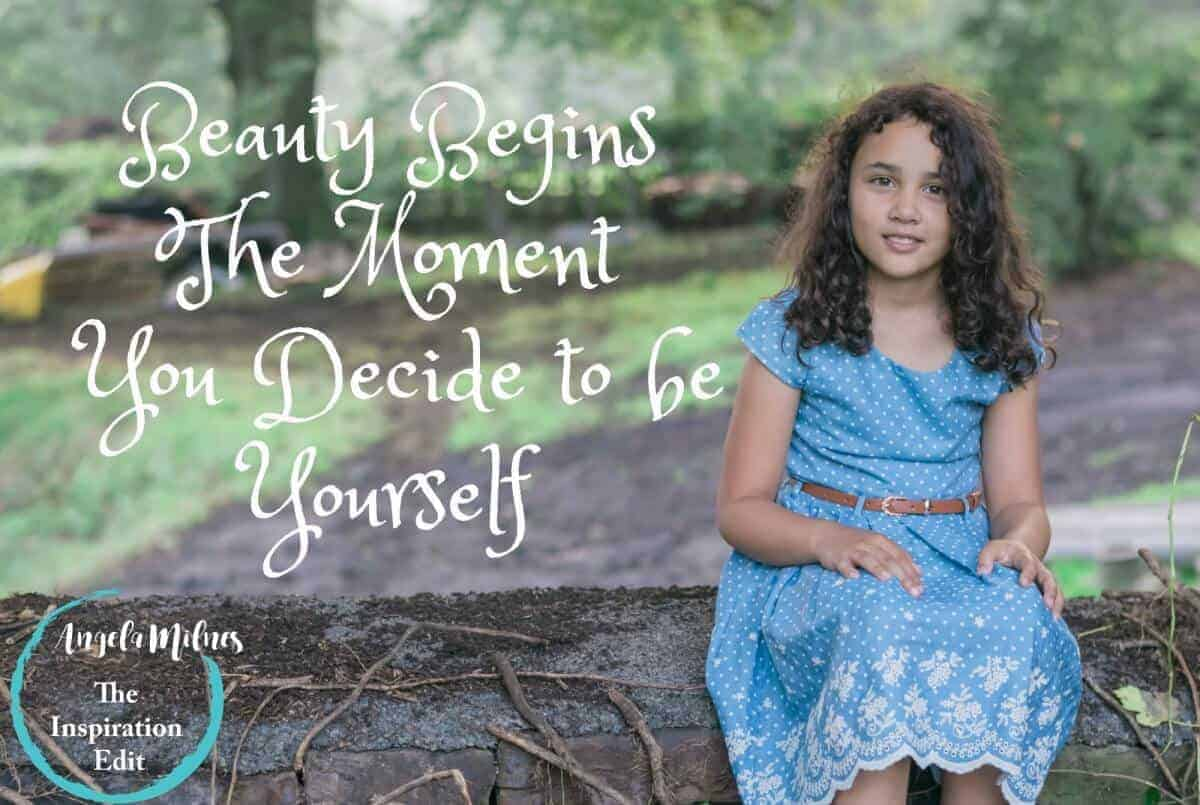 Beauty Begins The Moment You Decide to Love Yourself