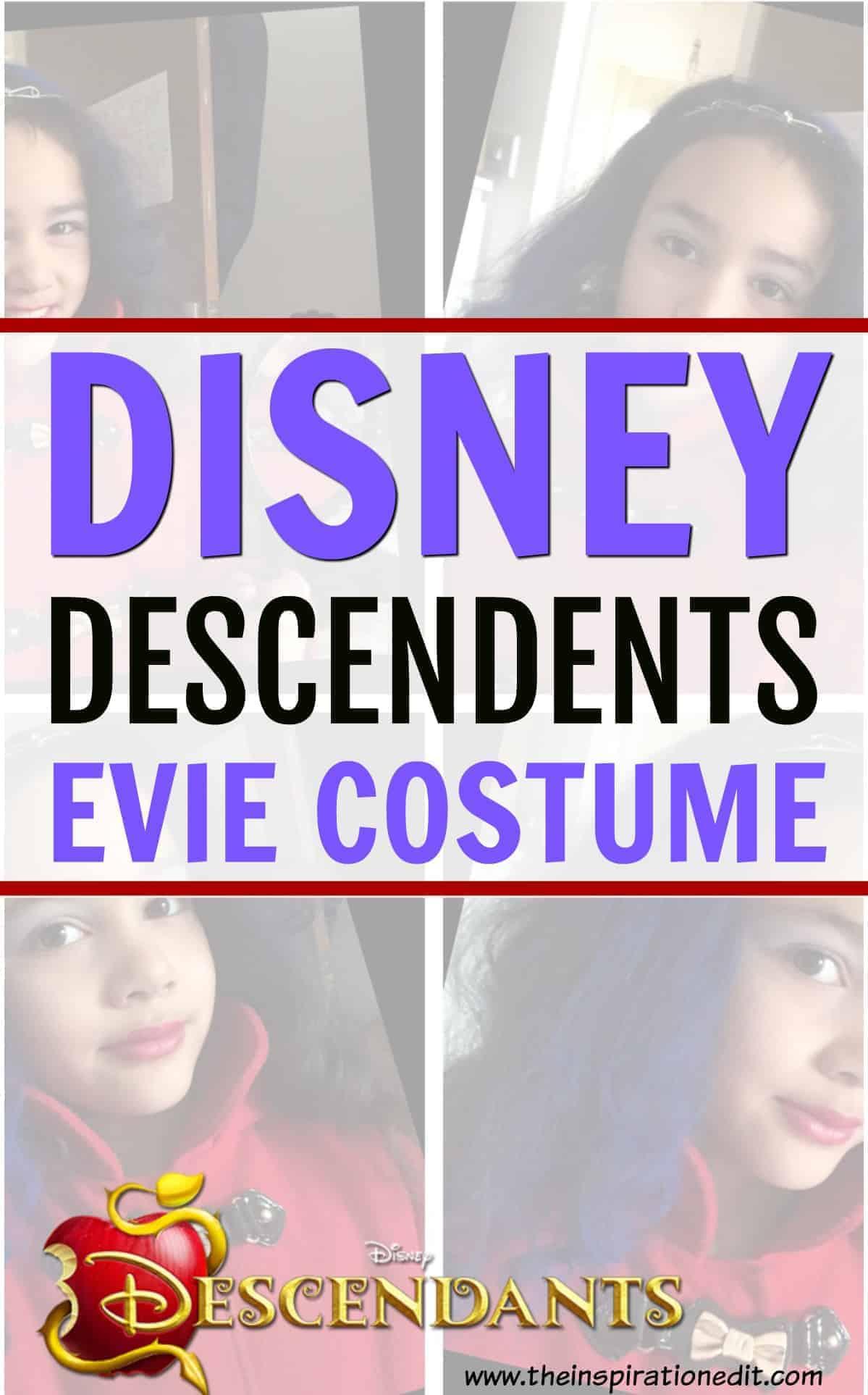 disney evie costume