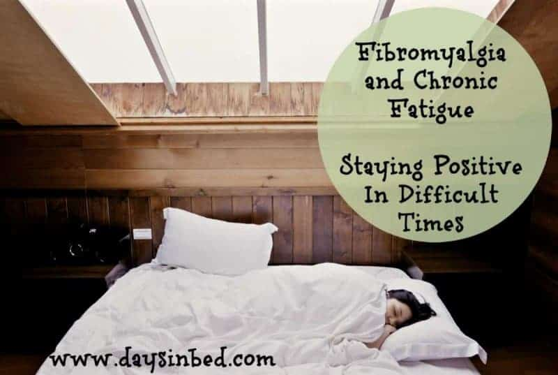 staying positive with fibromyalgia