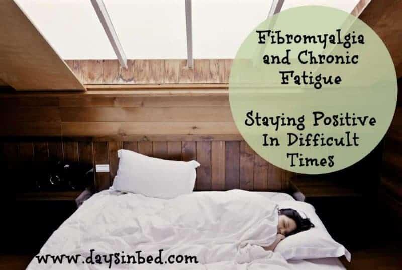 staying positive with fibromyalgia