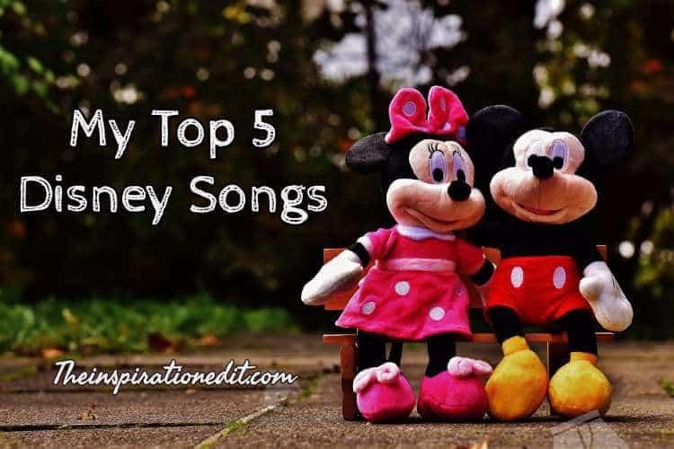favourite disney songs