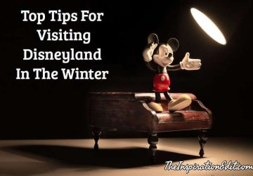 Visiting Disneyland in winter