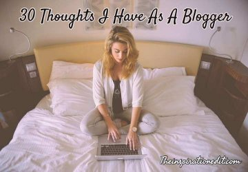 thinking like a blogger