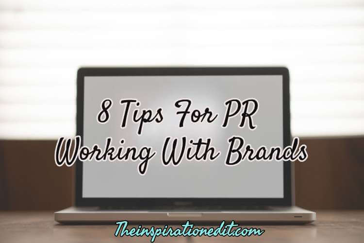 working with pr brands