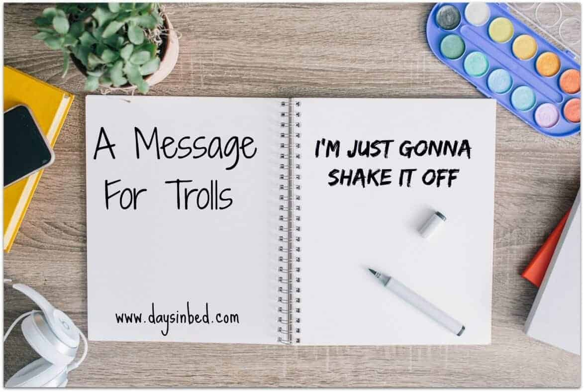 a message for trolls