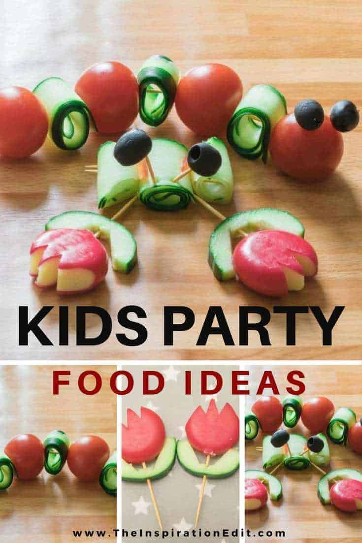 Some kids party food ideas.