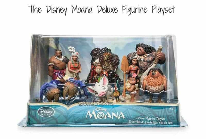 moana deluxe figurine