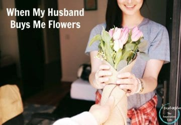 husband buy flowers
