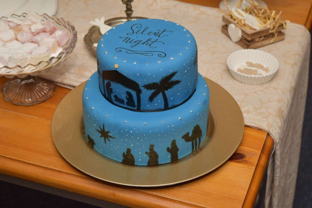 nativity Christmas Cake Ideas