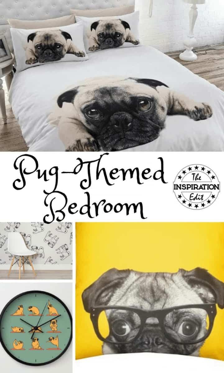 Pug Themed Bedroom