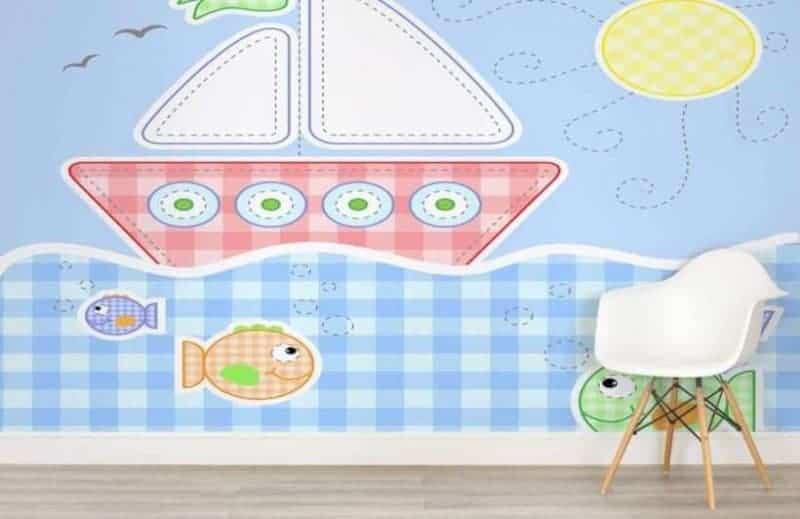 childrens-boat-childrens-wallpaper