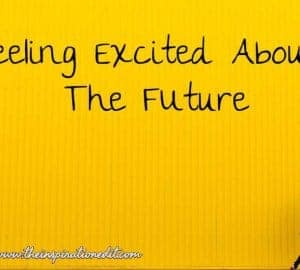 excited about the future