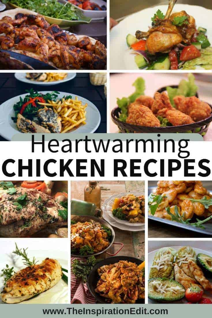 twenty fantastic Chicken recipes which look absolutely delicious.