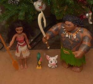 Moana and maui toys