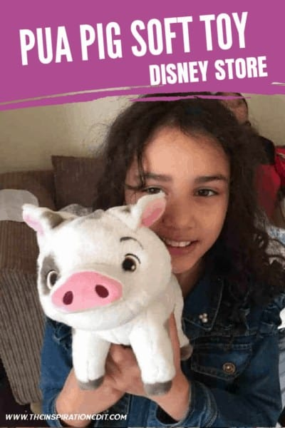 PUA PIG SOFT TOY FROM DISNEY STORE