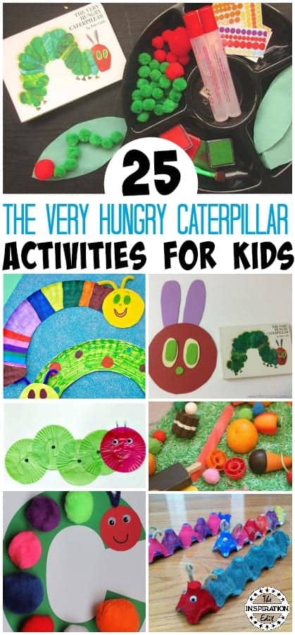 25 Fun The Very Hungry Caterpillar Activities The Inspiration Edit