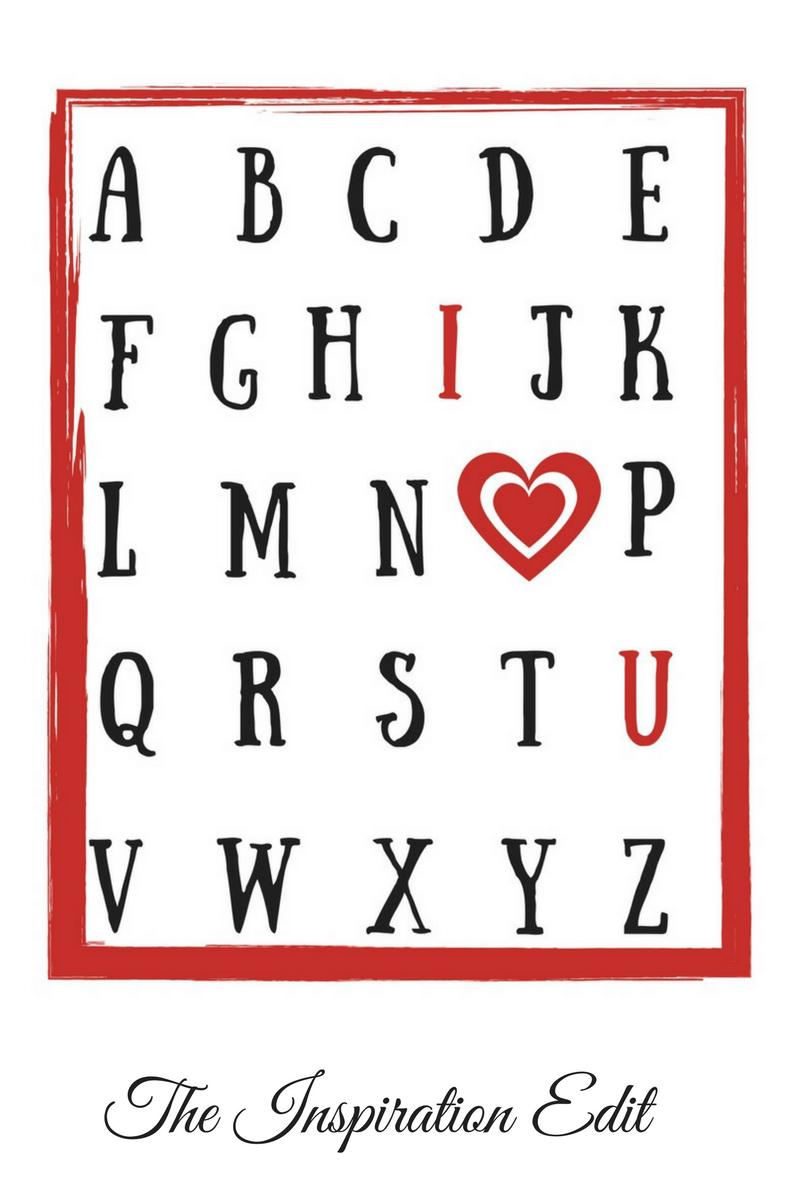 valentines printable