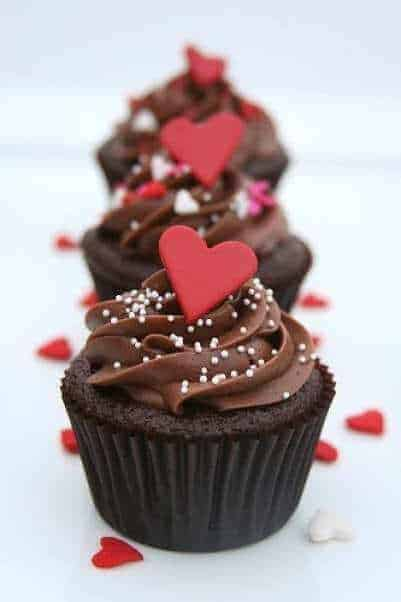 Valentines-Day cupcakes